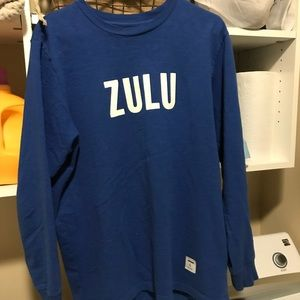 Supreme x Zulu long sleeve FW16 barley used